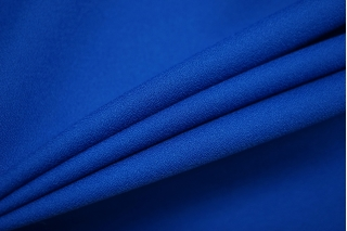 Креп костюмно-плательный поливискозный синий NST-E7 02022103