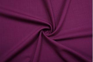 Костюмно-плательная шерсть фиолетовая фуксия NST-D5 02022104