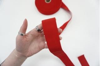 Эластичная резинка 4 см красная PRT-SH-C40 03062103