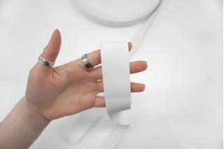 Эластичная резинка 3,3 см белая PRT 03062107