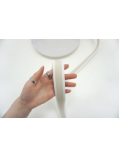 Тесьма-резинка 3 см бело-бежевая PRT 03062115