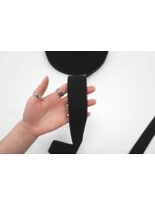Тесьма-резинка 4 см черная PRT 03062119