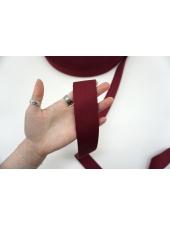 Ременная киперная лента 4 см темно-красная PRT 03062122