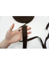 Ременная киперная лента 3 см коричневая PRT 03062123