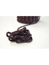 Шнур черный мультицвет 1 см PRT 04042129