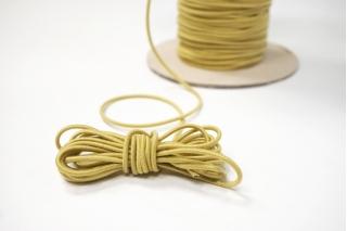 Резинка шляпная золотисто-желтая 2 мм 13012160