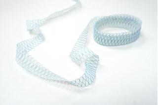Кружево бело-голубое KR 18022122