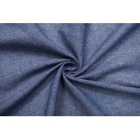 Лен костюмно-плательный сине-белый NST-H6 19022109