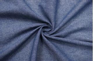 Лен костюмно-плательный сине-белый NST.H-H6 19022109