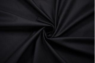 Хлопок плотный для тренча черный BRS-V20 21022128