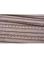 Твид-шанель вишнево-белый CVT-C1 25022103