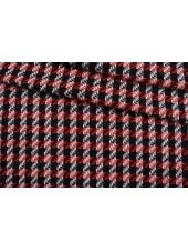 Твид-шанель черно-красно-белый CVT-F50 25022108
