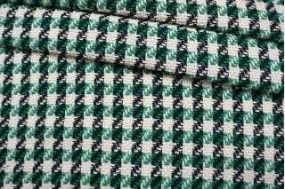 Твид-шанель черно-зелено-белый CVT-F30 25022109