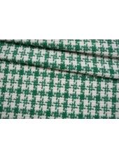 Твид-шанель зелено-белый CVT-C1 25022111