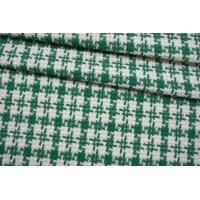 ОТРЕЗ  1,7 М Твид-шанель зелено-белый CVT-(15)- 25022111-2