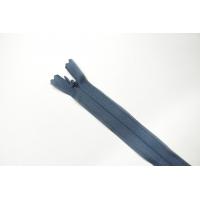 Молния пыльно-синяя потайная 20 см MN - 27012102
