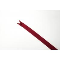 Молния темно-красная потайная 65 см MN - 27012107
