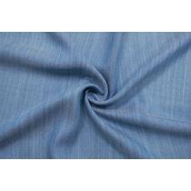 ОТРЕЗ 1,85 М Джинса плательная сине-голубая с вискозой CMF-(25)- 30012125-2