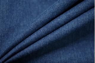 Джинса-стрейч плотная темно-синяя CMF-W1 30012129