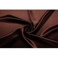 Плотная вискоза атласная шоколадно-бордовая TRC-AA7 30012154