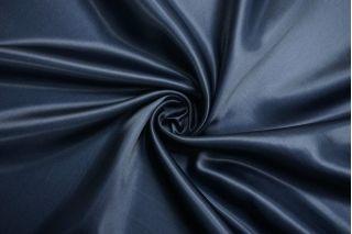 Атлас подкладочный вискозный темно-синий TRC-BB70 30012160