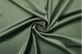 Атлас-стрейч вискозный зеленый Forte Forte TRC-AA6 30012166