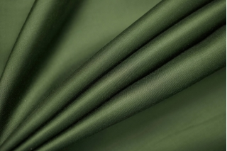 Атлас вискозный тонкий зеленый Forte Forte TRC.H-AA7 30012167