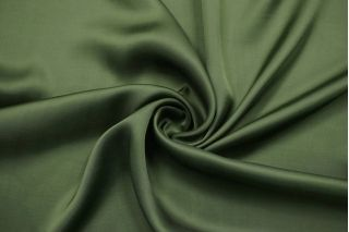 Атлас вискозный тонкий зеленый Forte Forte TRC.H-J40 30012167