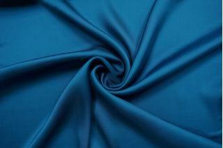 Атлас вискозный тонкий синий Forte Forte TRC.H-J40 30012168