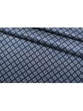 Атлас шелковый синий SMF-AA4 30012178