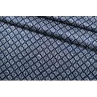 ОТРЕЗ 2 М Атлас шелковый синий SMF-(32)- 30012178-1