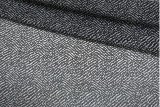ОТРЕЗ 2,1 М Шифон шелковый черно-белый Max Mara SMF-(32)- 30012189-1
