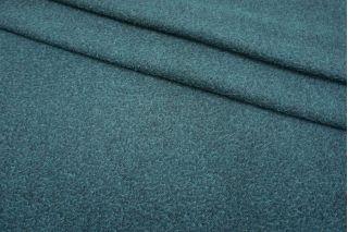 Пальтовая шерсть казентино черно-бирюзовая TXH-U30 03082118