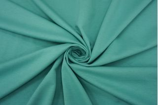Футер двухнитка зеленая бирюза MII-T30 03082132