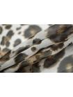 Батист шелковый с хлопком принт ягуар MII-N30 07082121