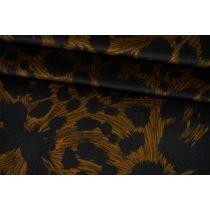 ОТРЕЗ 1 М Бархат хлопковый леопард Roberto Cavalli TRC-(43)- 19072149-2