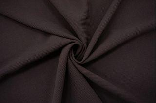 Костюмно-плательная шерсть-стрейч темно-коричневая TXH.H-DD50 19072161