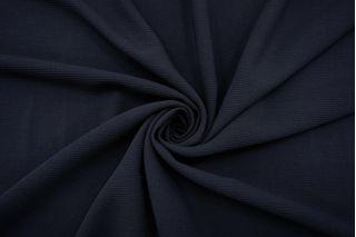 Костюмно-плательная шерсть-стрейч темно-синяя TXH.H-DD50 19072162