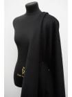 Пальтовая черная шерсть с альпакой на дублерине BRS.H-W30 26072101