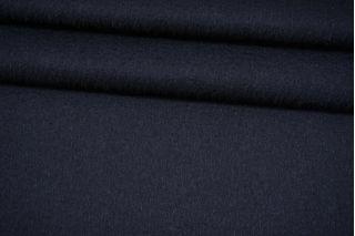 Пальтовая темно-синяя шерсть с альпакой на дублерине BRS-V40 26072102