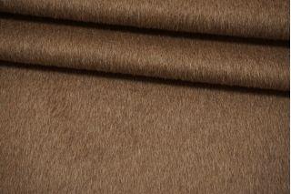 Пальтовая шерсть с альпакой на дублерине коричневый camel BRS-W40 26072103