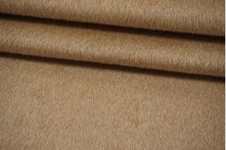 Пальтовая песочно-бежевая шерсть с альпакой на неопрене и дублерине BRS-V20 26072104