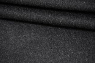 Пальтовая черно-серая шерсть с альпакой на неопрене и дублерине BRS-V30 26072105