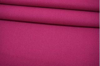 Пальтовая шерсть в елочку розовая фуксия BRS-U40 26072115