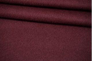 Пальтовая шерсть с альпакой на дублерине марсала BRS-V30 26072117