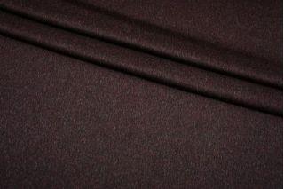 Сукно шерстяное черно-вишневое Fendi BRS-U40 26072122