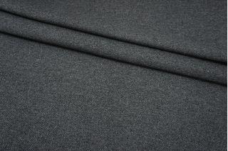 Пальтовая шерсть дабл серая диагональ Fendi BRS-U50 26072127
