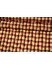 Рубашечная шерсть желто-красная Fendi BRS-EE30 26072131