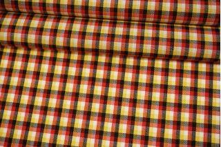 Рубашечная шерсть желто-красная Fendi BRS-EE20 26072131
