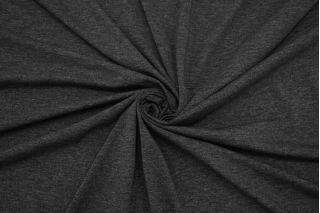 Трикотаж темно-серый меланж FBRS-X30 26072147